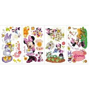 RoomMates RMK2075SCS Mickey And Friends Minnie Mouse Barnyard Cuties [ウォールステッカー]【同梱配送不可】【代引き不可】【沖縄...