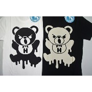 HYSTERIC GLAMOUR ヒステリックグラマー SLIME BEAR pt T-SH