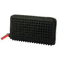 Christian Louboutin M PANETTONE WALLET CALF EMPIRE/SPIKES クリスチャン ルブタン スパイクスタッズ ウォレット 財布 レザー ...
