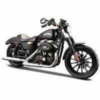 1/12 H-D Motorcycles - 13 Sportster Iron 883(フラットブラック)【MS32326】 【税込】 Maisto [MS32326 H-D Motorcycles]【返品種別B...