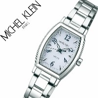 【5年保証対象】ミッシェルクラン 腕時計[ MICHELKLEIN 時計 ]ミッシェル クラン 時計[ MICHEL KLEIN 腕時計 ]レディース/シルバー AVCD028 [メタル ベルト...