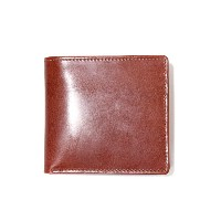 Whitehouse Cox (ホワイトハウスコックス ) / NOTECASE WITH COIN CASE(ANTIQUE Bridle Leather)(ノートケース コインケース 二つ折り...