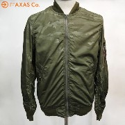【plokh】 ALPHA (アルファ) ALPHA MA-1 CAMO BONDING TA1112(MENS) Col.A.GRN CAMO[アウター/送料無料]