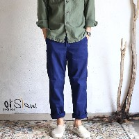 【orslow】 FRENCH WORK PANTS ink blue オアスロウ フレンチワークパンツ【送料無料】