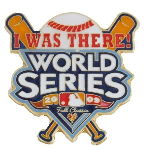 MLB ヤンキース 2009 ワールドシリーズ チャンピオンズ ピンバッジ I WAS THERE ウィンクラフト/WinCraft