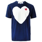 Comme Des Garçons Play ハートプリント Tシャツ