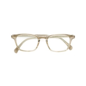 Oliver Peoples - 'Tolland' glasses - men - アセテート - ワンサイズ