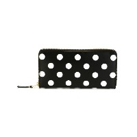 Comme Des Garçons Wallet - Polka Dots Printed 長財布 - unisex - レザー - ワンサイズ