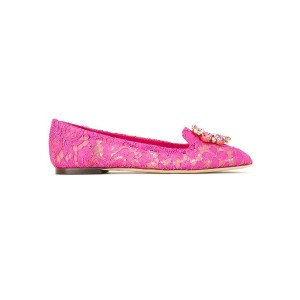Dolce & Gabbana - Vally slippers - women - コットン/ビスコース/Polyimide - 39