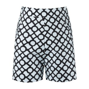 Andrea Marques - printed shorts - women - コットン - 42