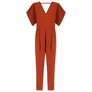 Andrea Marques - v-neck jumpsuit - women - アセテート/ビスコース - 40