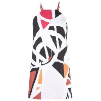 Andrea Marques - printed tunic - women - コットン - 42