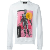 Dsquared2 Sexy Muscle Fit スウェットシャツ