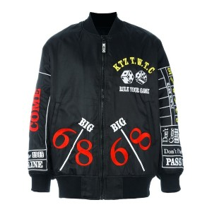 KTZ - 'Rule your game' bomber jacket - men - ナイロン - M