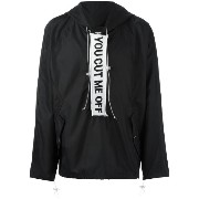 Off-White You Cut Me Off ウインドブレーカー