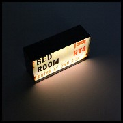 【HOUSE USE PRODUCTS】LED ナイトライト London BED ROOM HFT288 震動センサー ナイトライト アメリカン雑貨 あす楽
