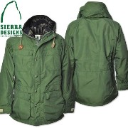 SIERRA DESIGNS (シエラデザインズ) PENDLETON LINED MOUNTAIN PARKA GREEN 7922