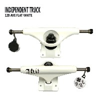 INDEPENDENT/インデペンデントトラック139 STAGE11 AVE FLAT WHITE TRUCKS STANDARD INDY/インディー スケートボードスケボー用 SK8...