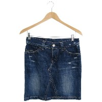 【HYSTERIC GLAMOUR】【KINKY JEANS】【ボトムス】ヒステリックグラマー『デニムスカート sizeS』レディース 1週間保証【中古】b03f/h07A
