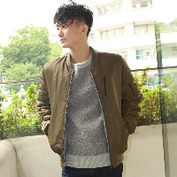 REVERSIBLE BOMBER JACKET/トミーヒルフィガー(メンズ)(TOMMY)