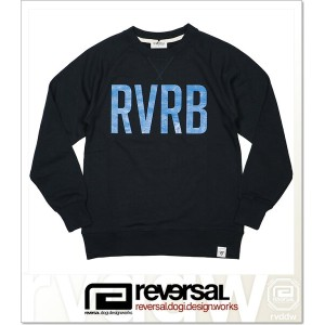 REVERSAL RVRB SWEAT CREW NECK (CREW)(rvsf16aw005-NV)