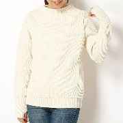 【ANDERSEN-ANDERSEN】SAILOR SWEATER 5GG/ビショップ レディース(Bshop)