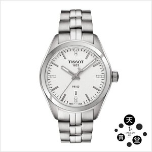 TISSOT T-CLASSIC ティソ TISSOT PR100 LADY DIAMONDS T1012101103600