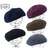 THE H.W.DOG & co. ドッグ BERET ベレー帽 5色(BLACK/NAVY/C.GREY/KHAKI/WINE)