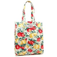キャスキッドソン バッグ CATH KIDSTON 579391 BOOKBAG WITH GUSSET APPLES AND PEARS トートバッグ CREAM