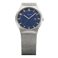 BERING Mens Northern Lights Solar Japan Limited(14440-079 ブルー×シルバー 600本限定)