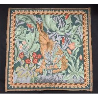【ART de LYS】 William Morris 8770G LIEVRE TETE A GAUCHE ゴブラン織りパネル生地L (約50×50cm) 【あす楽】【HLS_DU】