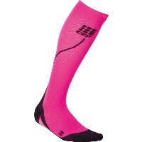 CEP CEP メンズ サイクリング ソックス【Progressive Run 2.0 Compression Socks】Pink/Black
