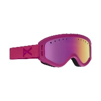ANON TRACKER Pink / Pink Amber 2017 YOUTH GOGGLE 【正規品】【30%OFF】