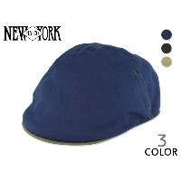 ☆NEWYORK HAT 【ニューヨークハット】#6133 CONTRAST CANVAS PUB HUNTING 13508 コントラスト パブ ハンチング[キャップ MADE IN...