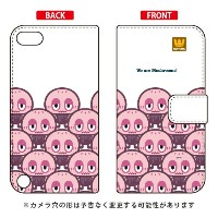 【送料無料】 手帳型ケース 「mushrooms」 design by PansonWorks / for iPod touch (第5世代) 【SECOND SKIN】ipod touch 5...