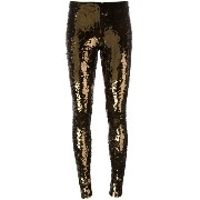 Mes Demoiselles sequinned leggings
