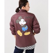 【JACKSON MATISSE】 Micky Mouse Coach Jacket【ジャーナルスタンダード/JOURNAL STANDARD その他(ジャケット・スーツ)】