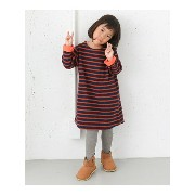 【SALE/30%OFF】DOORS FORK&SPOON Brushed Border ONE-PIECE(KIDS) アーバンリサーチドアーズ ワンピース【RBA_S】【RBA_E】【送料無料】