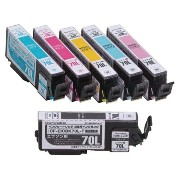 ★★Color Creation/EPSON/IC6CL70互換/エコカートリッジ/6色パック CF-EIC6CL70Lプリンターインク カートリッジ エプソン プリンター プリンターインクエプソン...