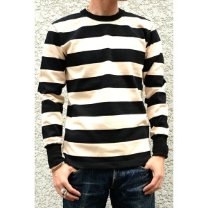 【WEST RIDE/ウエストライド】ロングスリーブ/HEAVY BORDER LONG SLEEVE TEE★REAL DEAL
