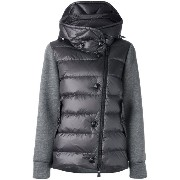 Moncler Grenoble padded front hoodie