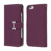 Highend berry iPhone6s / iPhone6 手帳型 ケース アイフォン6 / アイフォン6s H DIARY CASE パープル