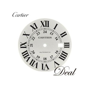 Cartier カルティエ ロンドソロ 文字盤 シルバー