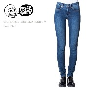 Cheap Monday(チープマンデー)TIGHT MID RISE SLIM Pure Blue スキニー/デニム