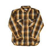 AVIREX DAILY L/S COTTON FLANNEL CHECK SHIRT