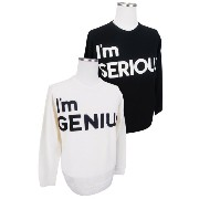 【SALE】PEARLY GATES パーリーゲイツGENIUS or SERIOUS クルーネックメンズセーター 6270005/16D