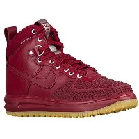 (取寄)ナイキ メンズ ルナ フォース 1 ダックブーツ Nike Men's Lunar Force 1 Duckboots Team Red Gum Light Brown Team Red ...