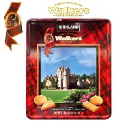 Walkers ショートブレッド ビスケット 大容量 2.1kgウォーカーズ Pure Butter Shortbread Kirkland 缶 ギフト バター スコッ...