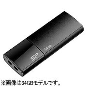 シリコンパワー Silicon Power USB2.0メモリ Ultima U05 (16GB・ブラック) SP016GBUF2U05V1K