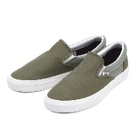 【VANS】 ヴァンズ SLIP ON スリッポン V98CL FATIGUE FATIGUE 16FA OLIVE